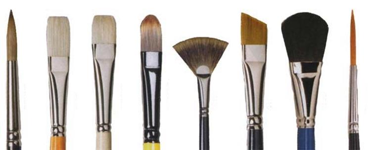 Como escolher pincel para artesanato