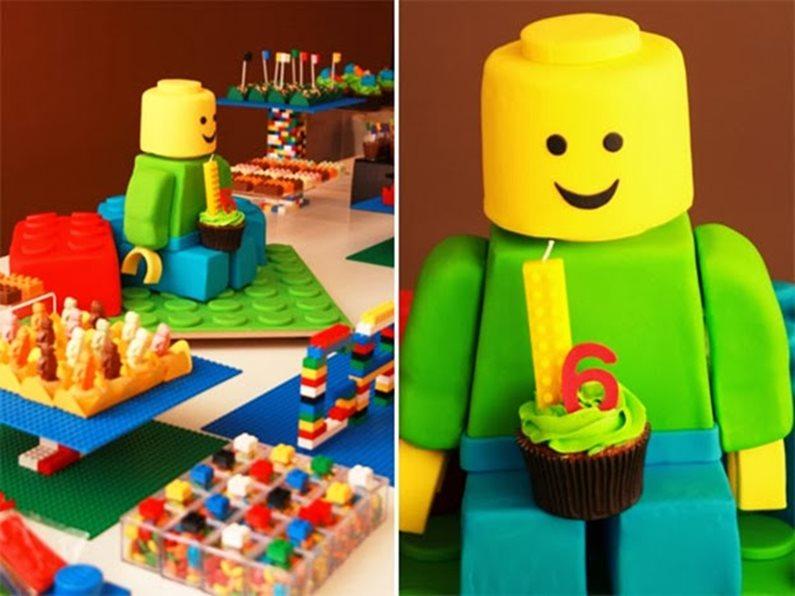 Decoração Festa Infantil Lego 1