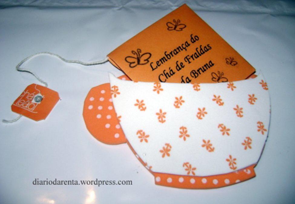 Passo a passo: Lembrancinha de Chá de Bebê em EVA