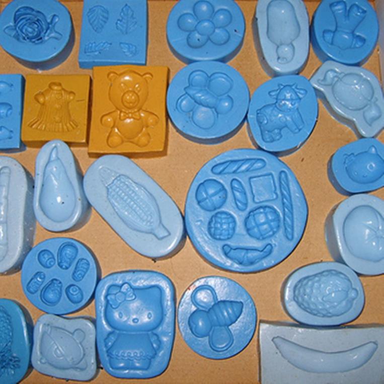 molde de silicone para biscuit