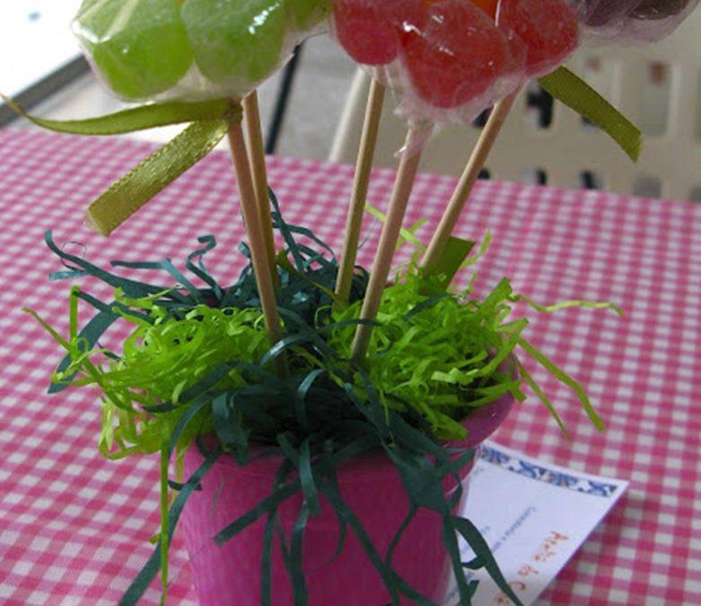 Passo a passo: flor de jujuba