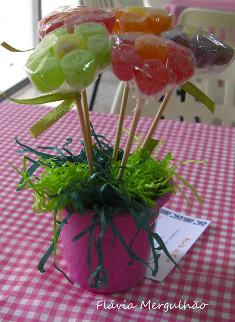 Passo A Passo Flor De Jujuba Lembrancinhas Online