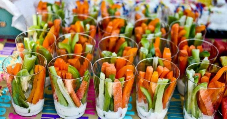 Festa Infantil com comida saudável