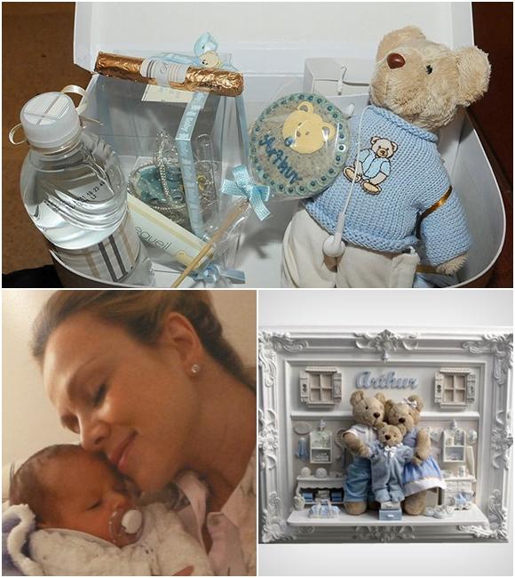 lembrancinha de maternidade das celebridades Eliana
