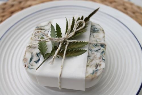 Passo a passo: Lembrancinha de casamento – sabonete de ervas naturais