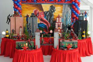 festa homem aranha 3