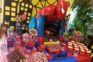 festa homem aranha 8