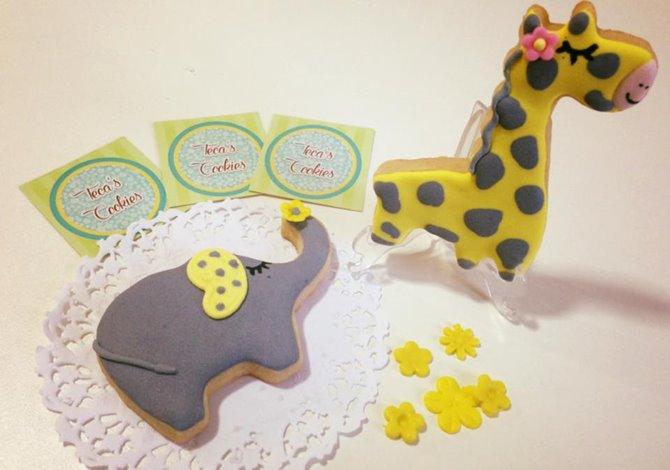 Cookies para lembrancinhas